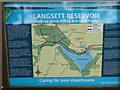 SE2100 : Information board at Langsett  - in the Barn car-park by Wendy North