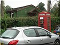 SU0611 : Edmondsham: phone box and village hall by Chris Downer