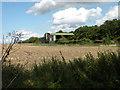 TL5458 : Barn near Little Wilbraham church by Keith Edkins