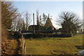 TQ9032 : Haynes Farm Oast, Appledore Road, Tenterden, Kent by Oast House Archive