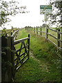 SK3937 : Bridleway from Locko Park to Oakwood by Alan Murray-Rust