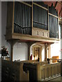 SU6605 : The organ at the Church of the Resurrection, Drayton by Basher Eyre