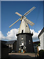 TQ7735 : Cranbrook Union Windmill, Russells Yard, Cranbrook, Kent by Oast House Archive
