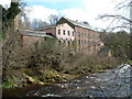 NO1746 : Keathbank Mill beside River Ericht, Blairgowrie by James Nicol