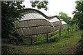 SU8712 : Gridshell at Weald & Downland Museum, Singleton, West Sussex by Oast House Archive