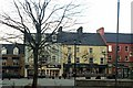 G9278 : Shop fronts in The Diamond: Donegal Town by louise price