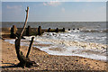 TM2623 : Flotsam on Walton beach by Bob Jones