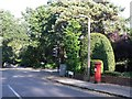 SZ0692 : Branksome: postbox № BH12 240, Brunstead Road by Chris Downer