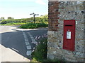 ST7909 : Belchalwell: postbox № DT11 19 by Chris Downer