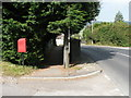 SY3392 : Lyme Regis: postbox № DT7 49, Uplyme Road by Chris Downer