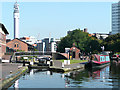 SP0687 : Farmer's Bridge Locks No 1, Birmingham by Roger  Kidd