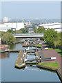 SP0788 : The Aston Flight, Birmingham and Fazeley Canal by Roger  Kidd