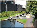 SP0888 : Lock No 22, Birmingham and Fazeley Canal, Aston by Roger  Kidd