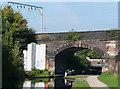 SP0889 : Lock No 24, Birmingham and Fazeley Canal, Aston by Roger  Kidd