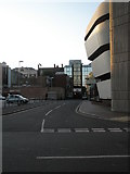 SU6400 : Looking past the Central Library down to Guildhall Walk by Basher Eyre