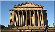 SJ3490 : St George's Hall, south portico by Alan Murray-Rust