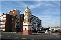TQ7307 : The Clocktower, West Parade, Bexhill-On-Sea, Sussex by Oast House Archive