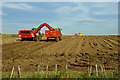 TA0114 : Potato Harvesting near Worlaby by David Wright
