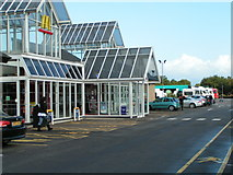 ST0207 : Cullompton motorway services by Rob Purvis