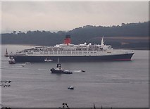 NT1380 : Fuss and nonsense dear old Queen - QE2 by Simon Johnston