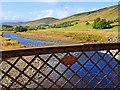 NN8340 : River Quaich above the Tirchardie Bridge by Dr Richard Murray