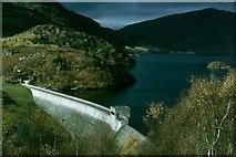 NN5207 : Dam of the Glen Finglas Reservoir by Sarah Charlesworth