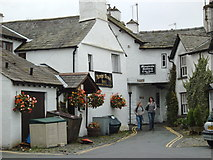 SD3598 : In back of the King's Arms, Hawkshead by Darrin Antrobus