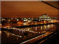 O1634 : River Liffey at Night by Ian Paterson