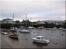 SH5638 : Across the Harbour by DS Pugh