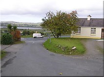 C2412 : Road at Manorcunningham by Kenneth  Allen