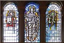TQ3580 : St Paul's Church, The Highway, London E1 - East window by John Salmon