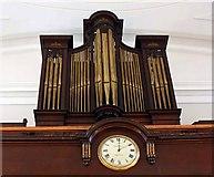 TQ3580 : St Paul's Church, The Highway, London E1 - Organ by John Salmon