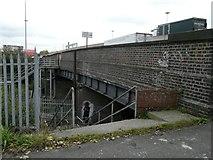 SJ9195 : Denton Railway Bridge by Gerald England