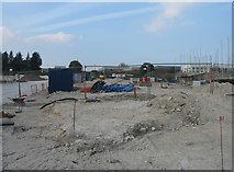 SU6252 : Spencer Place building site by Given Up