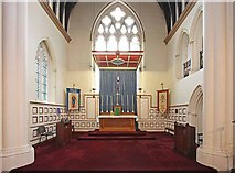 TQ3580 : St Mary, Cable Street London E1 - Chancel by John Salmon