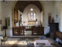 TM3669 : Inside St.Peter's Church,Sibton by Adrian Cable