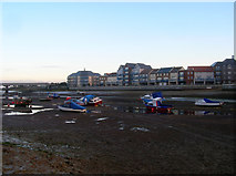 TQ2105 : River Adur at Low Tide by Simon Carey
