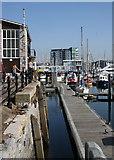 SX4854 : Sutton Harbour by Tony Atkin