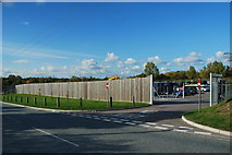 TL8663 : Rougham Hill Household Waste Site by Greg Aspland