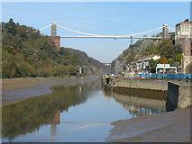 ST5673 : Clifton Suspension Bridge - Looking downstream by Paul Harvey