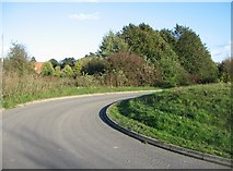 SU6252 : Access road coming from allotments by Given Up