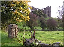 C2502 : Raphoe Castle by Kenneth  Allen