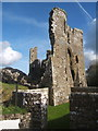 SN0717 : Llawhaden castle ruins, the end near the village by Andrew Hill