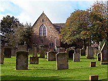NS3321 : The Auld Kirk Of St John The Baptist by Mary and Angus Hogg
