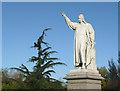 SO8376 : Statue of Richard Baxter, Kidderminster by Roger  Kidd