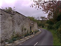 SY6085 : High stone wall, Portesham by mick finn