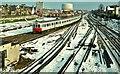TQ1875 : Snow in Richmond by Albert Bridge