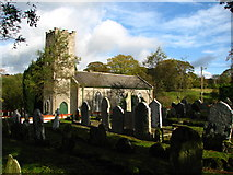 S9676 : Clonmore Church and graveyard by liam murphy