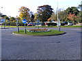 TM3877 : A144 Saxon Way Roundabout by Adrian Cable