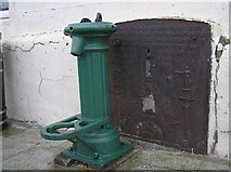 H6357 : Water Pump and Fountain, Ballygawley by Kenneth  Allen